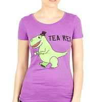 Girls 'Tea Rex' Graphic Tee
