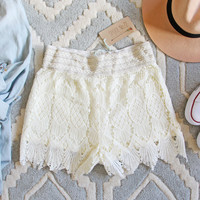 Summer Aspen Lace Shorts