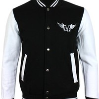 Black Veil Brides Gate Baseball Varsity Jacket - Offical Band Merch - Buy Online at Grindstore.com