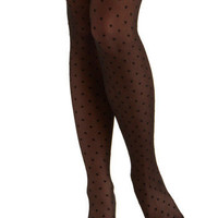 Secret Crush Tights | Mod Retro Vintage Tights | ModCloth.com $14.99