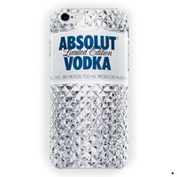 Absolute Vodka Drink Alcohol Bottle For iPhone 6 / 6 Plus Case