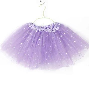 Baby Kids Girls Tutu Skirt Party Ballet Dance Wear Princess Pettiskirt Costume