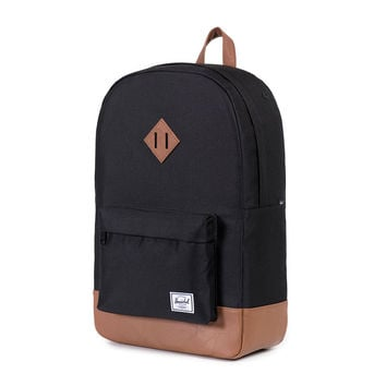 Heritage Backpack in Black by Herschel Supply Co.