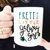 Ed Sheeran, Galway Girl Coffee Mug, St. Patty's Day mug, Girlfriend Gift, Bff gift idea, irish mug