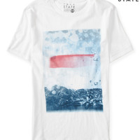 Free State Abstract Landscape Graphic T