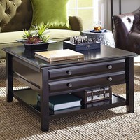 Anywhere Square Coffee Table - Rubbed Black