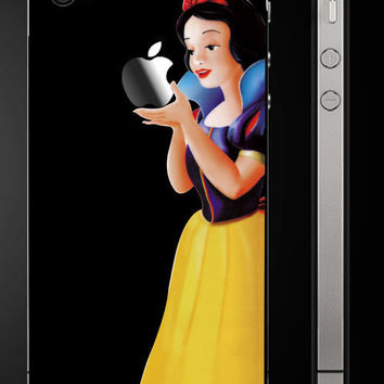 Snow White-iphone 4  Decal iphone 4S Stickers iphone Decals Apple Sticker for Macbook Pro / Macbook Air / iPad / iPad2 / New iPad / iPhone 4
