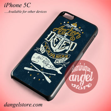 Anchor Deep Phone case for iPhone 5C and another iPhone devices