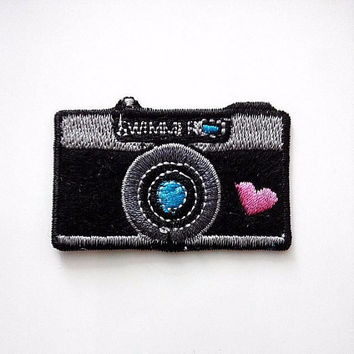 Camera Photography Love Iron On Patch