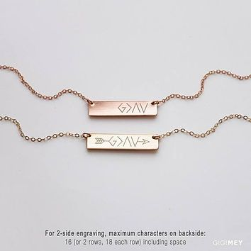 God Is Greater Than The Highs and Lows Necklace,