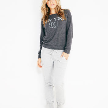 New York 89 Soft Pullover | Wet Seal