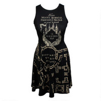 Harry Potter Marauder's Map Juniors Dress | HarryPotterShop.com