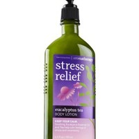 Stress Relief - Eucalyptus Tea Body Lotion   - Aromatherapy - Bath & Body Works