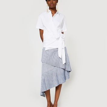 Farrow / Accordion Pleat Skirt
