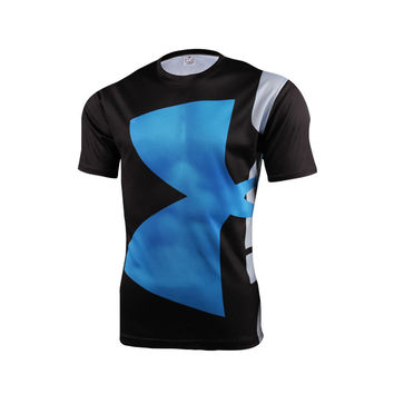 Marvel Super Hero Avenger Batman T shirt Men Compression Armour Base Layer Jogging Thermal Under Sport fitness T shirt S-4 XL