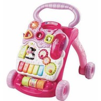 VTech Sit-to-Stand Learning Walker Pink - Walmart.com