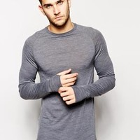 ASOS | ASOS Thermal Top in Wool at ASOS