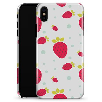 Summer Strawberries v1 - iPhone X Clipit Case