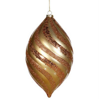 Christmas Ornament - Gold Spiral