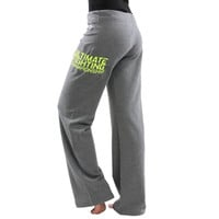 UFC Team Pettis Womens The Ultimate Fighter 20 Sweatpants – Gray - http://www.shareasale.com/m-pr.cfm?merchantID=7124&userID=1042934&productID=547698388 / UFC