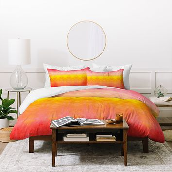 Rebecca Allen Brightly Boldly Brilliantly Duvet Cover