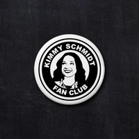 Kimmy Schmidt fan club button