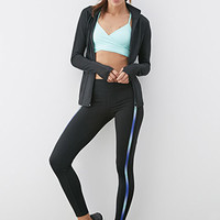 Ombre-Paneled Workout Leggings