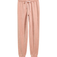 Velour Pajama Pants - from H&M