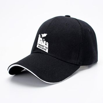I Want To Believe Planet Express, The Simpsons Baseball Cap