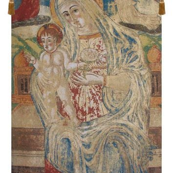 Madonna with Child Flanders Tapestry Wall Art Hanging