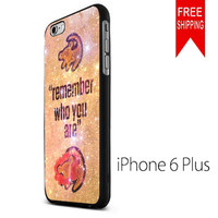 Lion King Samba Remember Who You Are NDR iPhone 6 Plus Case