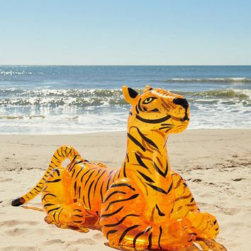 Glitter Tiger Pool Float | Urban Outfitters