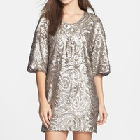 Women's Dress the Population 'Brooklyn' Sequin Shift Dress,