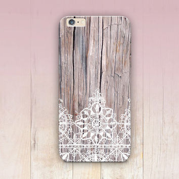 Bohemian Wood Lace Print Phone Case  - iPhone 6 Case - iPhone 5 Case - iPhone 4 Case - Samsung S4 Case - iPhone 5C - Tough Case - Matte Case