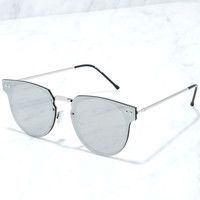 Spitfire Cyber Silver Mirrored Sunglasses