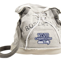 Seattle Seahawks NFL Super Bowl XLVIII Champs Hoodie Duffle
