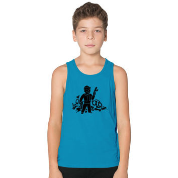 Fallout 3 Vault Boy Kids Tank Top