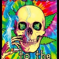 Stoned to the Bone - Black Light Poster