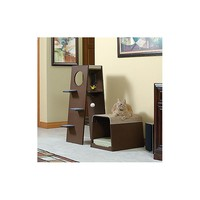 Modular Cat Tree With Foam Bed