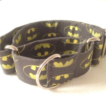 Batman Martingale or Quick Release Collar