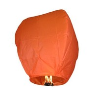 Orange Sky Fire Chinese Lantern Flying Paper Wish Wishing Balloon for Wedding Festival Xmas Christmas Party