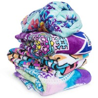 boho printed blanket 50inx60in | Five Below