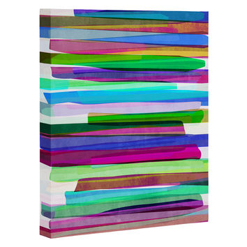 Mareike Boehmer Colorful Stripes 3 Art Canvas
