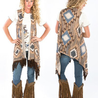 Leaving Cheyenne Vest by Double D Ranch