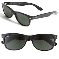 Women's Ray-Ban 'New Large Wayfarer' 55mm Sunglasses