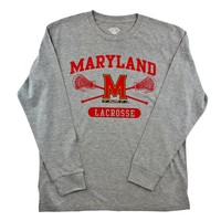 Maryland Long Sleeve Lacrosse Tee 2016 | Lacrosse Unlimited