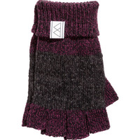 Fingerless Gloves - from H&M