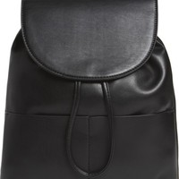 BP. Drawstring Faux Leather Backpack | Nordstrom