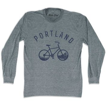 Portland Bike Long Sleeve T-shirt