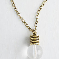 ModCloth Get Your Filament Necklace